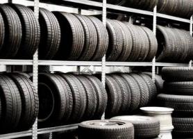 Stockages de pneus